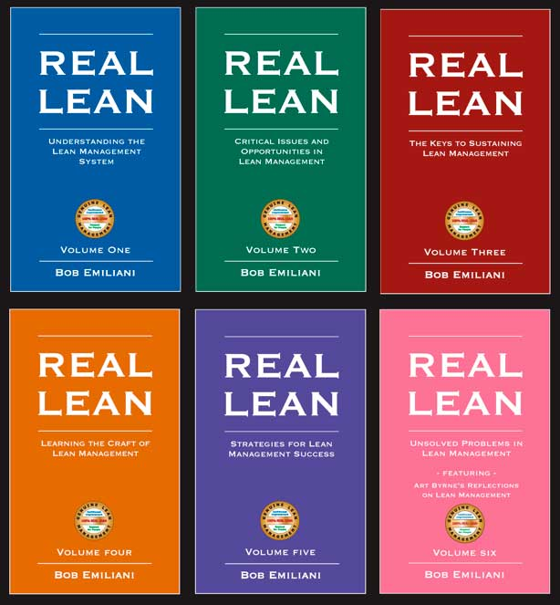 REAL LEAN, Volumes One to Six