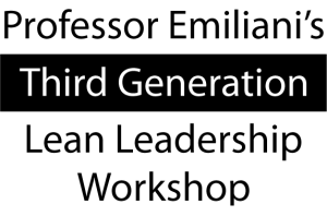 Third Generation Lean Leadership Workshop