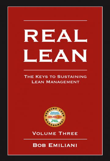 REAL LEAN, Volume Three