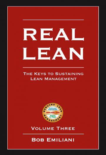 REAL LEAN, Volume Three