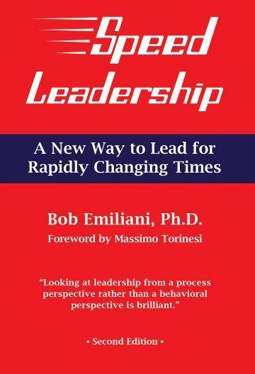 Speed Leadership Book by Bob Emiliani